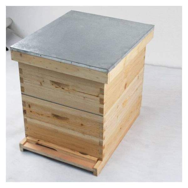 Jungimker Starterpaket - mit Holzbeute inkl. Kunstschwarm Deutsches Normalmaß Buckfast